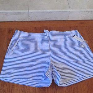 Nautica shorts striped NWT